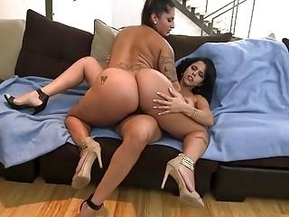 Lesbianas culonas se maman los chochos